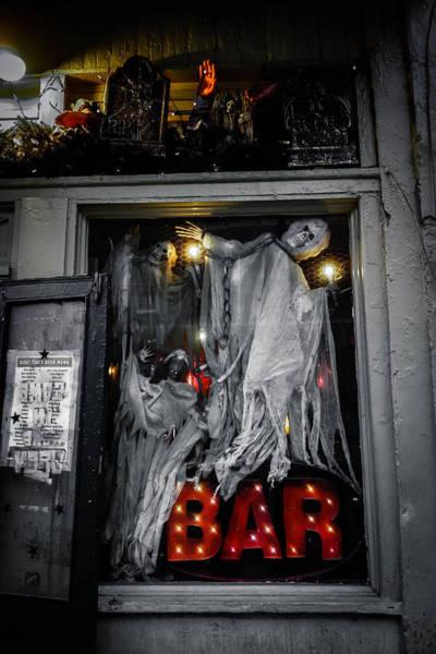 Photograph - Haunted Bar by Louis Maistros