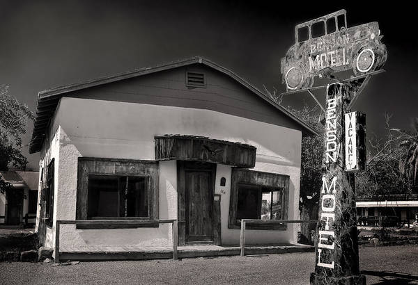 Wall Art - Photograph - Haunted Benson Motel by Dave Dilli