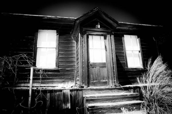 Bodie Ghost Town Wall Art - Photograph - Haunted by Cat Connor
