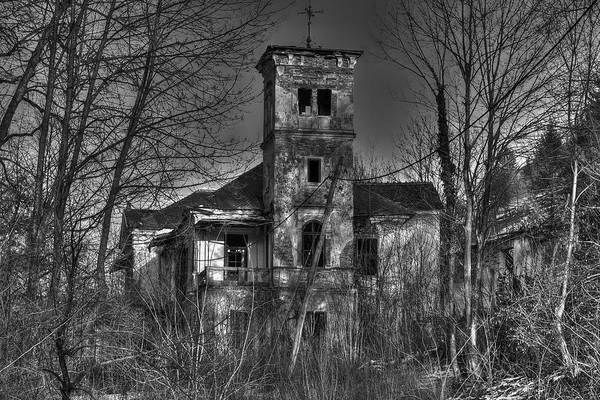 Photograph - Haunted House by Ivan Slosar