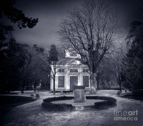 Real Ghosts Wall Art - Photograph - Haunted House by Michal Bednarek