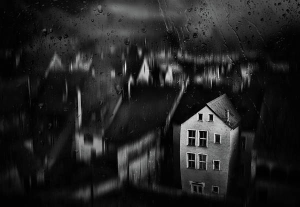 Wall Art - Photograph - Haunted House by Samanta Krivec