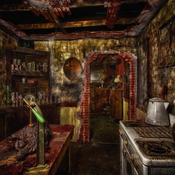 Haunted Kitchen Art Print