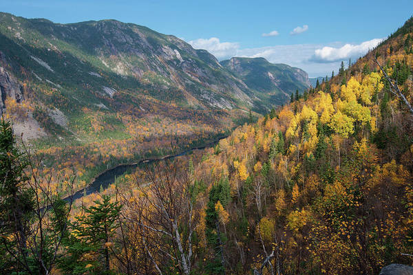 Riviere Wall Art - Photograph - Hautes-gorges In The Fall Season by Nicolas Kipourax Paquet