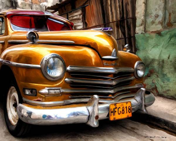 Digital Art - Havana 2 - Caribbean Serie by Gabriel T Toro