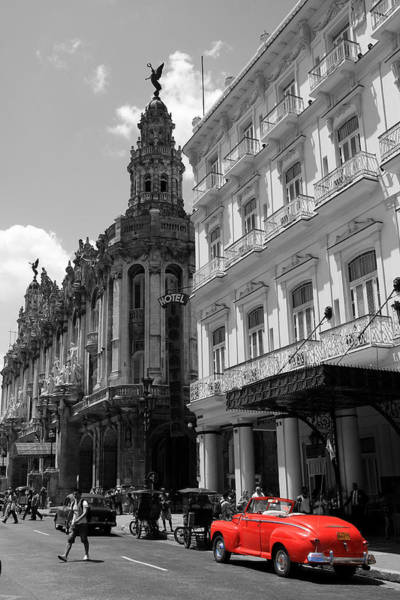 Prado Photograph - Havana 5 by Andrew Fare