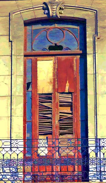 Cuba Photograph - Havana Balcony 3 by Claude LeTien