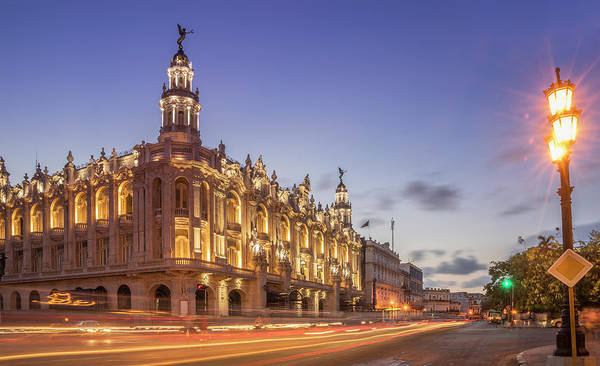 Prado Photograph - Havana, Cuba, The National Theater by Buena Vista Images