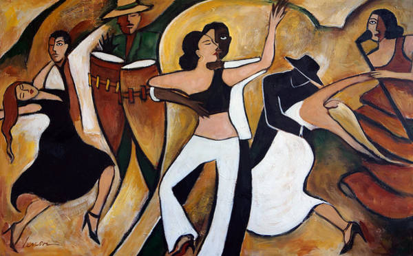 Latino Painting - Havana Nights by Valerie Vescovi