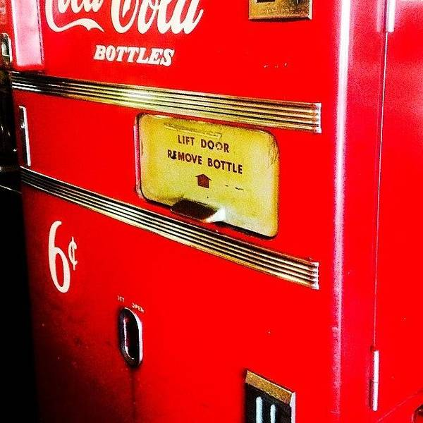 Wall Art - Photograph - Have A Coke And A Smile!! #iphone5 by Scott Pellegrin
