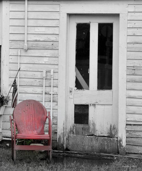 Photograph - Have A Seat by Andrea Platt