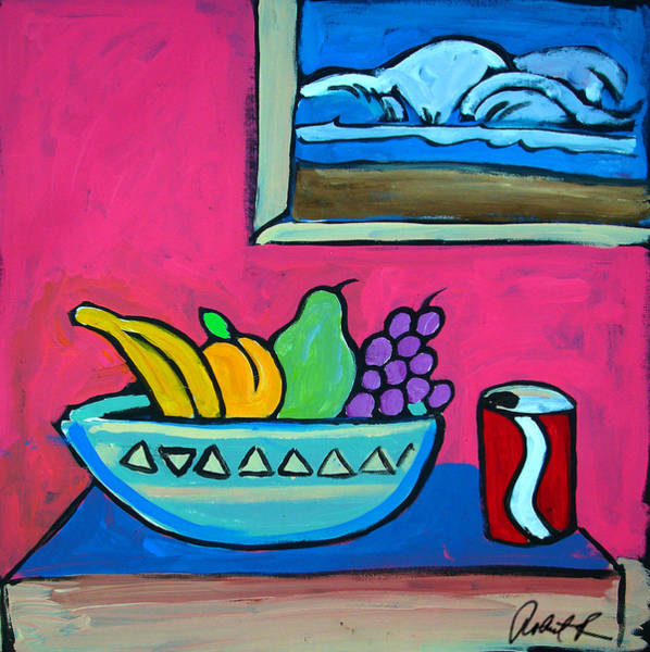 Soda Pop Painting - Have A Surf And Smile  by Robert R Splashy Art Abstract Paintings