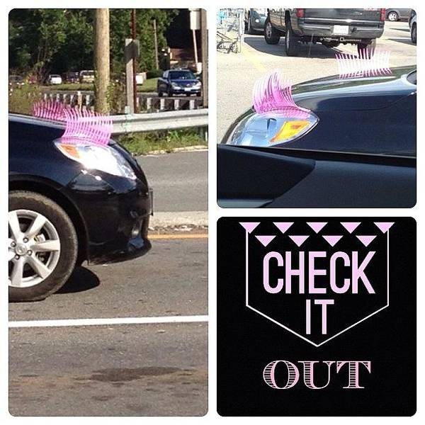 Car Photograph - Have You Seen These?  #checkitout #glam by Teresa Mucha