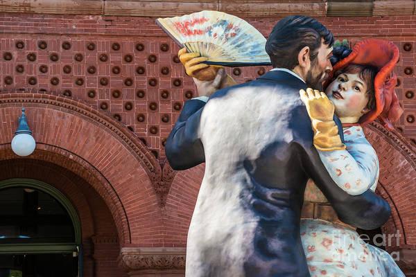 Street Performers Photograph - Having Fun Sculpture 3 Key West by Ian Monk