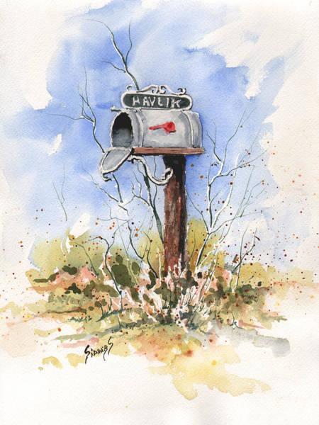 Havlik's Mailbox Art Print