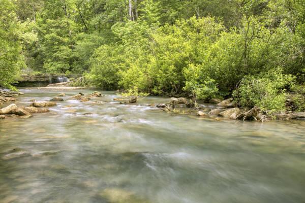 Photograph - Haw Creek With Falls - Ozarks - Arkansas by Jason Politte