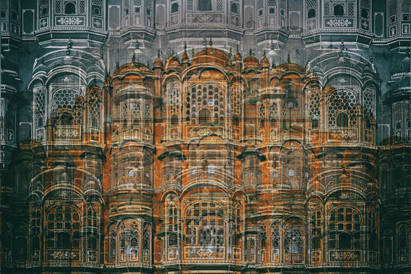 Wall Art - Photograph - Hawa Mahal by Hans-wolfgang Hawerkamp