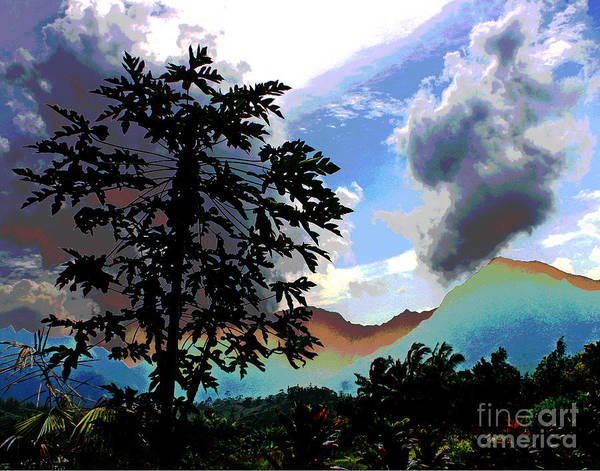 Photograph - Hawaii Clouds by Larry Oskin
