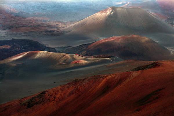 Red Mountain Photograph - Hawaii by Fabio Palmerini