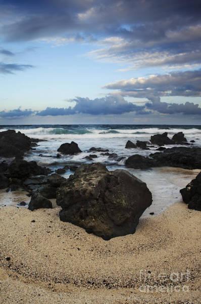 Photograph - Hawaii Rocky Seascape by Charmian Vistaunet