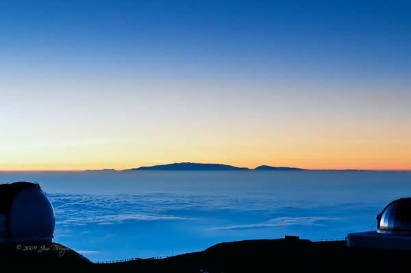 Photograph - Hawaii Sunset by Jim Thompson