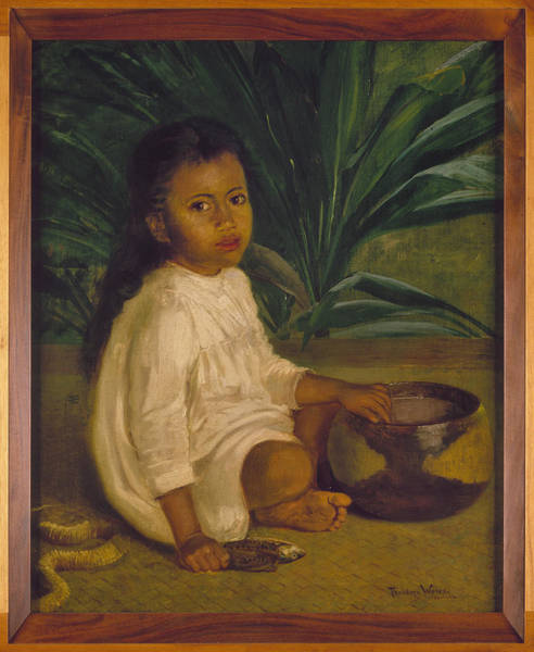 Wall Art - Painting - Hawaiian Child, 1901 by Granger