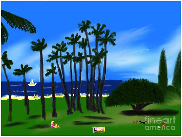 Painting - Hawaiian Holiday by Barefoot Bodeez Art