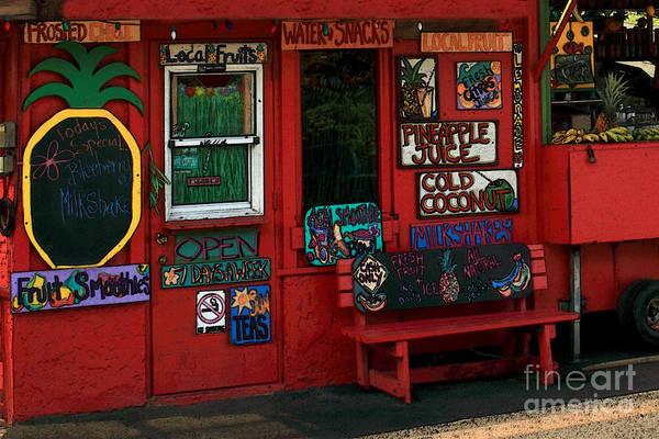 Photograph - Hawaiian Juice Bar by James Eddy