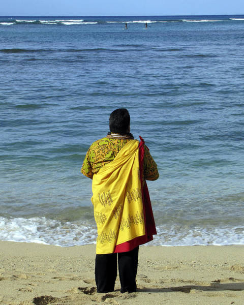 Photograph - Hawaiian Prayer by Bob Slitzan