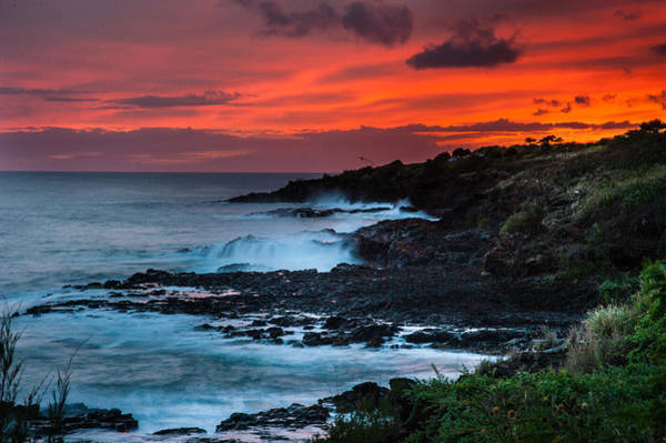 Photograph - Hawaiian Sunset by Harry Spitz
