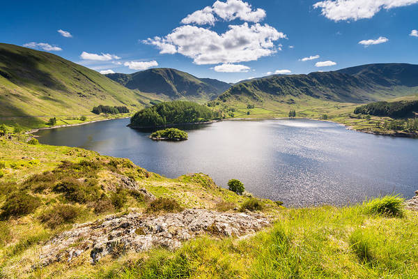 Haweswater Wall Art - Photograph - Haweswater From Whiteacre Crag by David Head