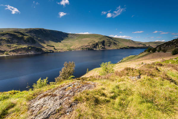 Haweswater Wall Art - Photograph - Haweswater From Whiteacre Crag North by David Head