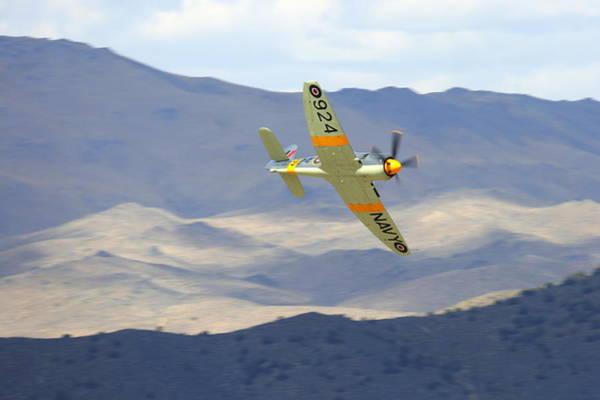 Photograph - Hawker Sea Fury T Mk.20 At Reno Air Races by John King