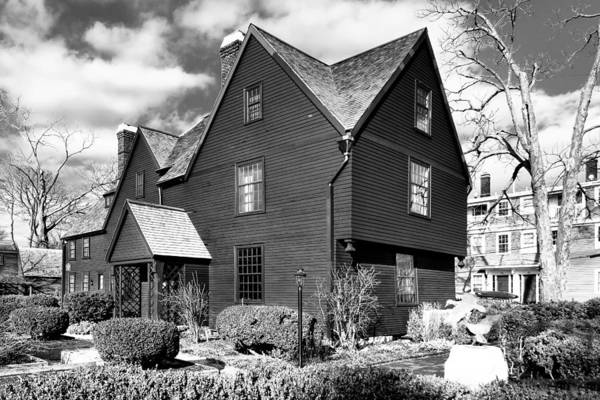 Photograph - Hawthorne's Legendary House Of Seven Gables by Mark E Tisdale