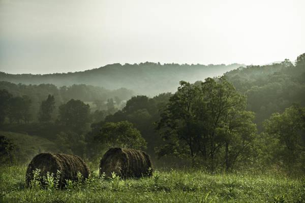 Bales Photograph - Hay Bales by Shane Holsclaw