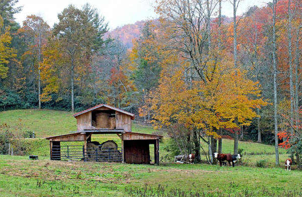 Photograph - Hay Barn Along Slick Fisher Road by Duane McCullough