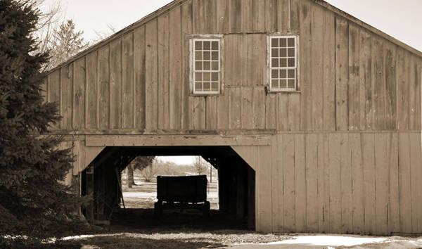 Digital Art - Hay Barn by Kirt Tisdale