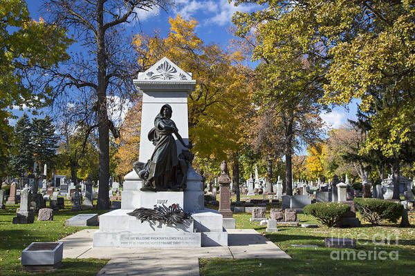 Photograph - Haymarket Martyrs Monument by Jim West