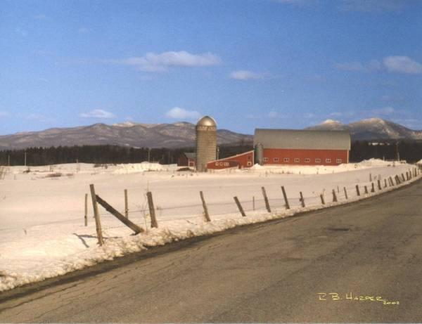 Photograph - Hays Farm by R B Harper