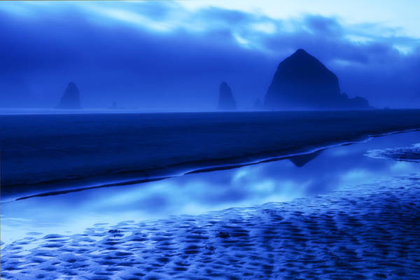Wall Art - Photograph - Haystack Blues by Patrick Campbell