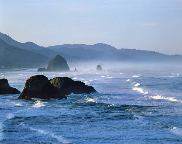 Ecola State Park Photograph - Haystack Rocks In Cannon Beach by Panoramic Images