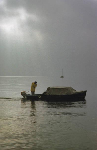 Photograph - Hazy Day On The Lake Geneva by Dragan Kudjerski