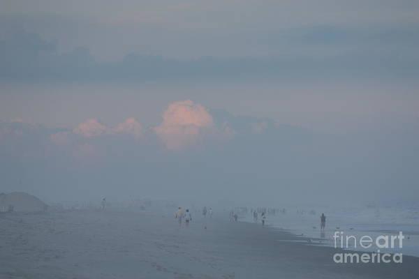 Wall Art - Photograph - Hazy Day Over Jones Beach by John Telfer