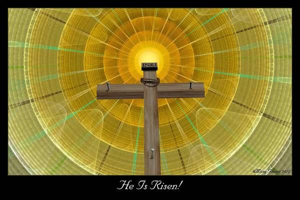 Digital Art - He Is Risen by Missy Gainer