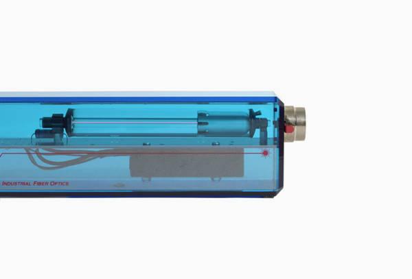 Optics Photograph - He-ne Laser by Science Stock Photography/science Photo Library