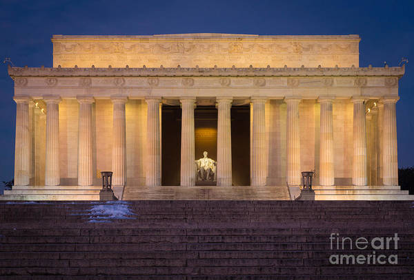 National Mall Wall Art - Photograph - He Who Saved The Union by Inge Johnsson