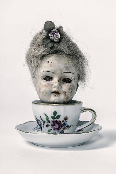 Wall Art - Photograph - Head In Cup by Joana Kruse