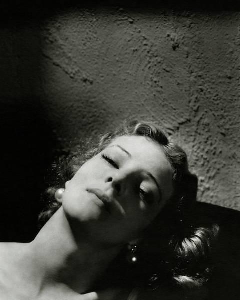 Italian Actress Wall Art - Photograph - Head Shot Of Elissa Landi by Edward Steichen