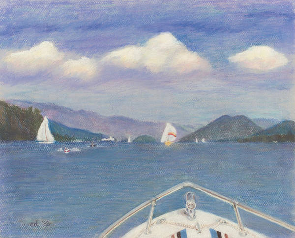Wall Art - Painting - Heading To Dome Island by Chrissey Dittus
