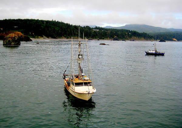 Photograph - Heading To Port by AJ  Schibig